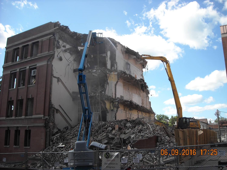 Ohio University (OU) President's Street Construction - Turn Key Construction